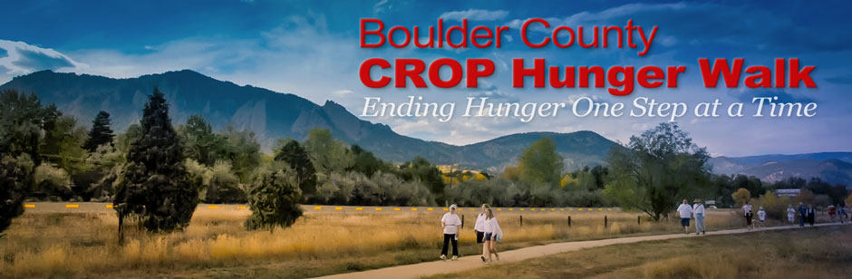Boulder County CROP Hunger Walk
